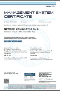 Newcom Consulting - ISO27001